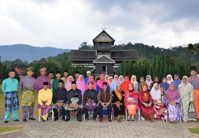 Warga Seri Lemak Luak Rembau Negeri Sembilan Malaysia menjemput Asal usul ke Sarilamak Luak 50kota
